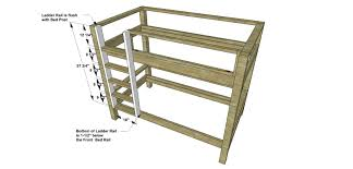 Free Bunk Bed Plans Twin Over Queen by Bunk Bed House Loft Woodworking Plans And Instructions Surripui Net