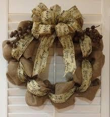 christmas burlap wreaths 2015 winter you should these christmas burlap wreaths from