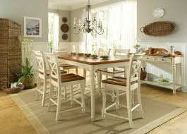 Country Dining Room Furniture Sets White Kitchen Dining Set Room Furniture With Pertaining To Stylish