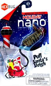hexbug newton series nano reindeer pull santa s