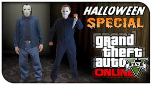 gta 5 online fashion friday freddy krueger micheal myers