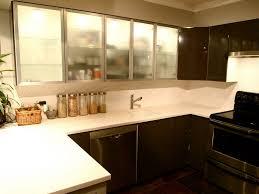Wonderful Studio Apartment Kitchen Design Ideas Brown Painted L - Apartment kitchen design ideas