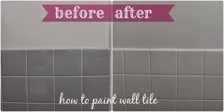 Bathroom Tile Makeover - bathroom tile paint home decor gallery