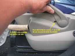 reglage siege auto levier de hauteur de siège cassé sur renault scénic divers