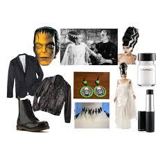 Frankenstein Halloween Costumes Diy Frankenstein U0026 Bride Halloween Costume Polyvore