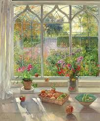 fruit and flowers autumn fruit and flowers painting by timothy easton