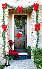 thanksgiving front door decorations 50 best christmas door decorations for 2017
