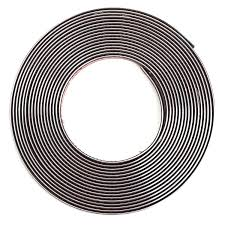 bande plastique pour porte amazon fr 12mm x 8m bande decoratif chrome adhesif autocollant