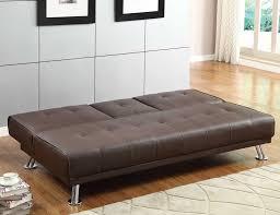 Leather Click Clack Sofa Click Clack Futon Home Roof Fence U0026 Futons Simple Yet Cozy