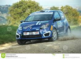 renault rally renault twingo rally car editorial image image of races 27816495
