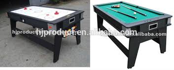 pool and air hockey table 5ft 6ft 7ft 2 in 1 air hockey table and pool table game table play