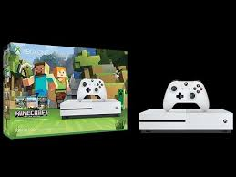 xbox one black friday 2016 xbox one s 500gb console minecraft bundle discount to 50