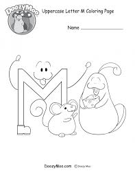 famous m coloring pages gallery resume templates ideas