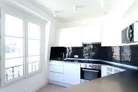 cuisine blanche et noir carrelage cuisine blanc carrelage cuisine blanc cuisine blanche et