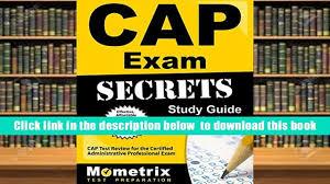 audiobook cap exam secrets study guide cap test review for the