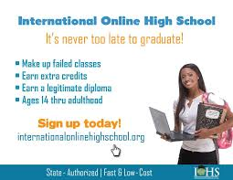 how can i finish high school international online high school international online high school