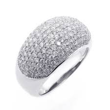 buy rings diamond images 1 91cts diamond micro pave cocktail ring set in 14k white gold jpg