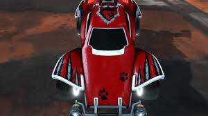 rocket league all painted lone wolf decals from the overdrive