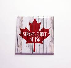how to make a quick and easy canada day sign canada 150 craft