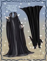 maleficent free printable 3d paper dolls paperdolls