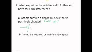 01 history of the atom worksheet youtube