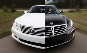 lexus that looks like a lamborghini hyundai equus vs lexus ls460l comparison test car and driver