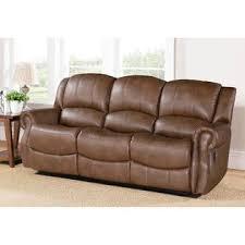 Abbyson Leather Sofa Reviews Abbyson Living Abbyson Calabasas Mesa Brown Reclining Sofa