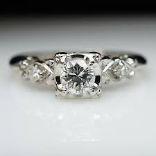 1940s engagement rings 1930 s 40 s 50 s wedding engagement rings and wedding sets