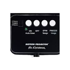 mr animated projector with remote