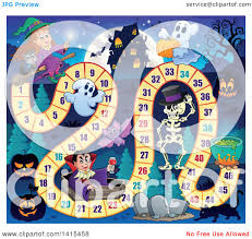 haunted house clipart free clipart of a haunted house and halloween characters board game