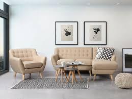 Tufted Sectional Sofas Tufted Sectional Sofa Beige Motala Beliani