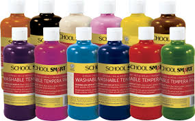 smart tempera paint set assorted classroom direct