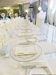 silver wedding plates glass beaded charger plates wedding lounge