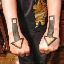 simple arrow tattoo design for men tattooshunter com