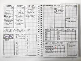 Bullet Journal Tips And Tricks by March Set Up Bullet Journal Ideas Including Weekly Spreads With