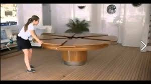 expandable dining table plans stunning expanding round dining table images inspiration surripui net