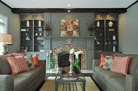 white painting brick fireplace u2014 jessica color simple way to