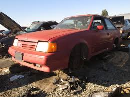 junkyard find 1988 ford escort gt the truth about cars