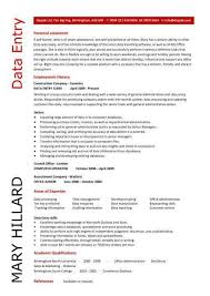data entry resume sample best data entry resume example