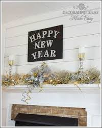 new year s decor new year s diy decorating ideas block painting command