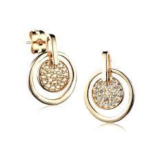 trendy gold earrings cheap gold earrings elkar club