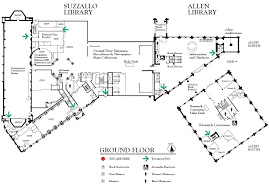 Floor Plan Of Auditorium by Suzzallo And Allen Ground Floor Map U2014 Uw Libraries