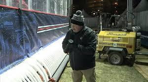 making columbus u0027 outdoor rink winter park youtube