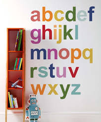 Wall Decoration For Preschool by Cool Alphabet Wall Art Canada Abc Poster A To Alphabet Wall Art