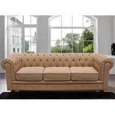 Classic Tufted Sofa Madison Home Usa Chesterfield Classic Scroll Arm Tufted Sofa