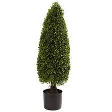 amazon com nearly natural 5412 boxwood tower topiary uv