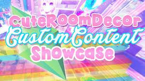 the sims 4 cute room decor custom content showcase youtube
