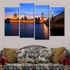 Peinture Moderne Pour Salon by Online Get Cheap Moderne Peinture Paysage Urbain Aliexpress Com