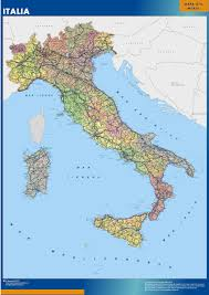 Maps Italy Our Italy Wall Maps Wall Maps Mapmakers Offers Poster Laminated