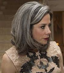 black lowlights in white gray hair image result for grey hair ash brown lowlights hair pinterest